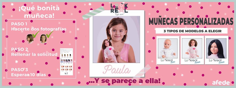 Muñeca Lookreal3D
