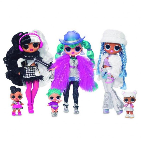 LOL SURPRISE S6 - TOP SECRET DOLLS - WINTER EDITIO
