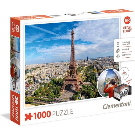 PUZZLE 1000 REALIDAD VIRTUAL PARIS