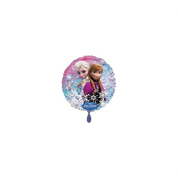 GLOBO METAL RED FROZEN 43CM