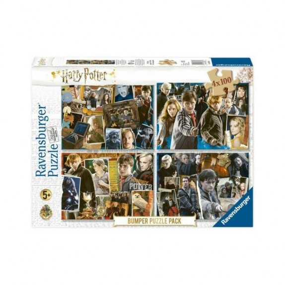 PUZZLE 4X100 HARRY POTTER