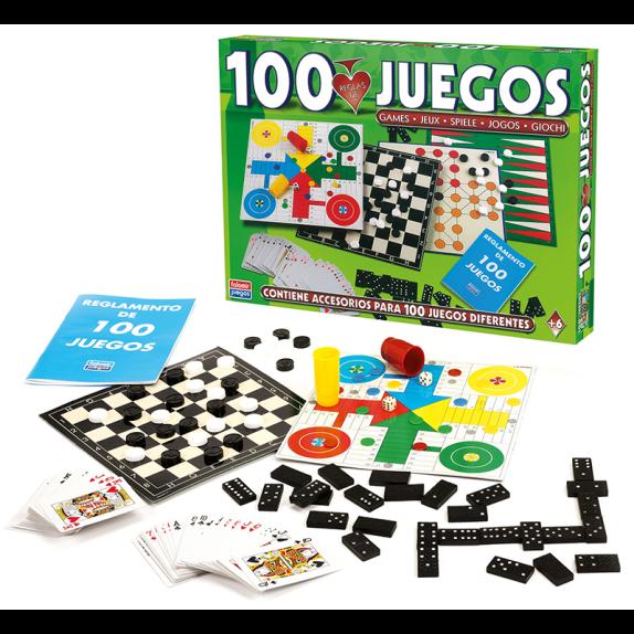100 JUEGOS REUNIDOS DE FALOMIR