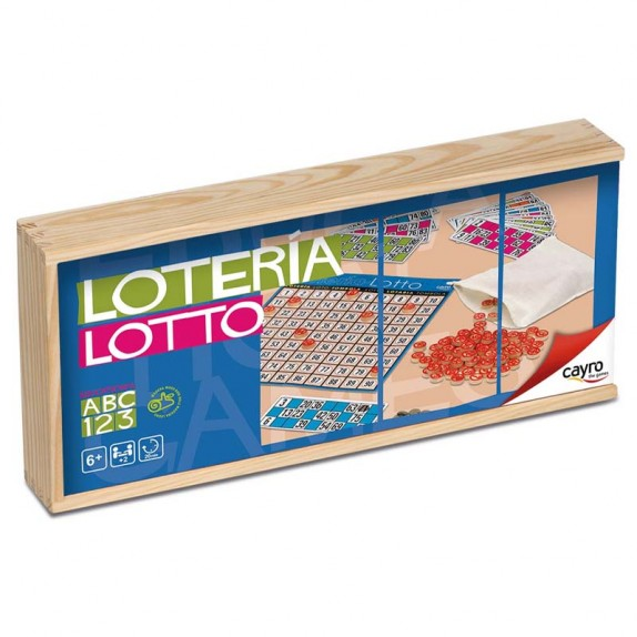 LOTTO MADERA 48 CARTONES