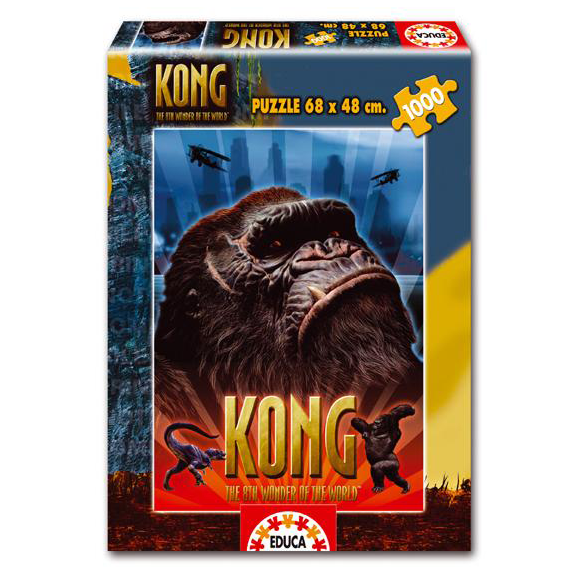 PUZZLE 1000 PIEZAS KING KONG