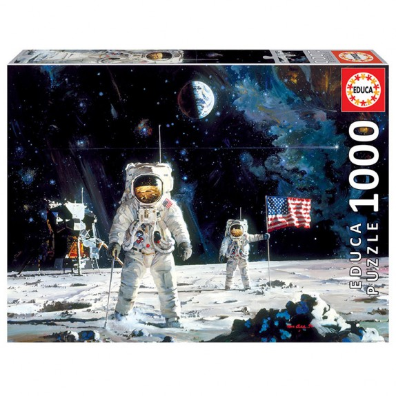 PUZZLE 1000 FIRST MEN ON THE MOON