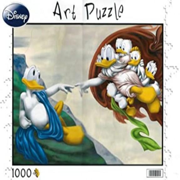 PUZZLE 1000 LA CREACION DE DONALD