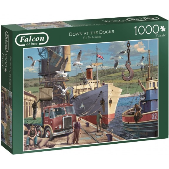 PUZZLE DOWN AT THE DOCKS