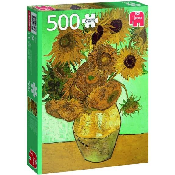 PUZZLE VAN GOGH SUNFLOWERS 500PZAS