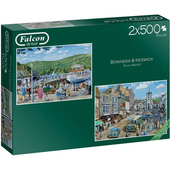 PUZZLE 2X500 FALCON BOWNESS