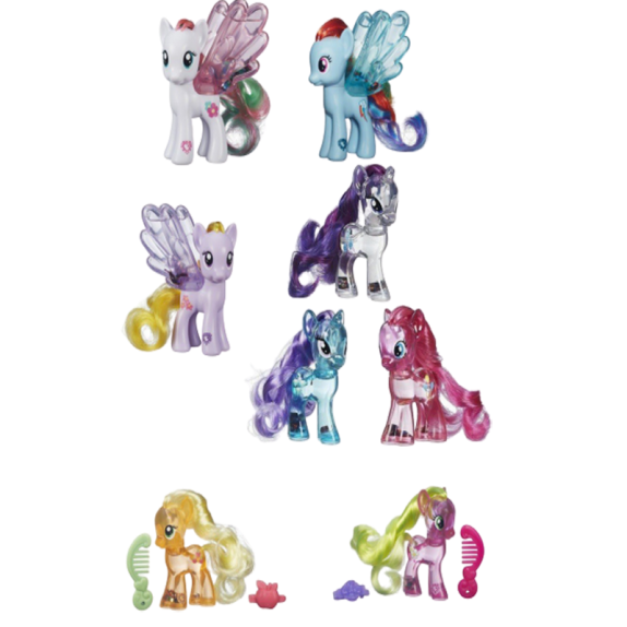 MY LITTLE PONY BRILLOS MAGICOS