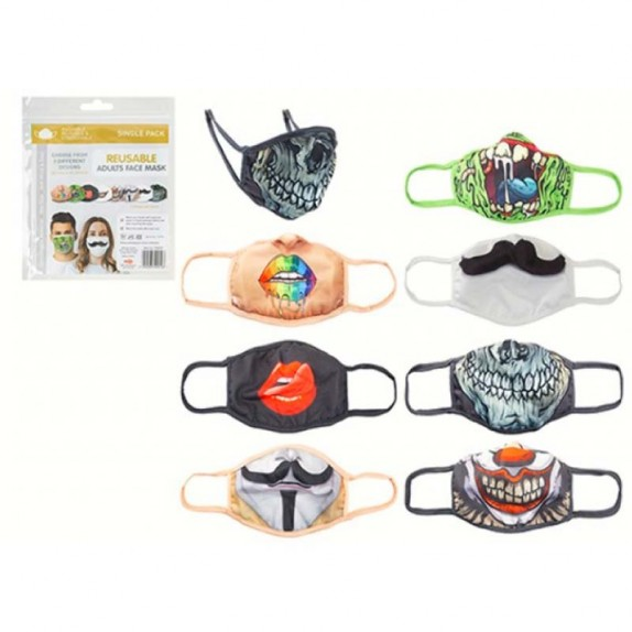 MASCARILLA ANIMALES REUSABLE INFANTIL
