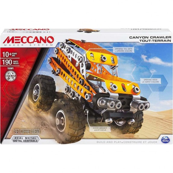 MECCANO OFF ROAD CAYON CRAWLER