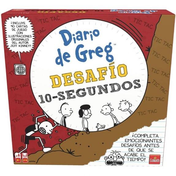 DIARIO DE GREG DESAFIO 10 SEGUNDOS