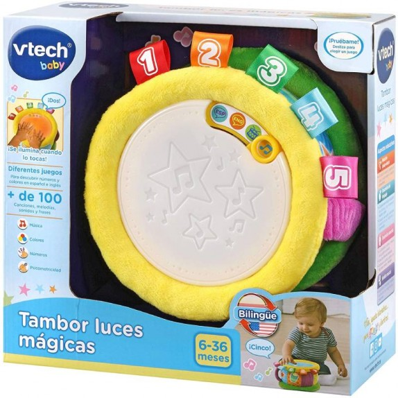 TAMBOR LUCES MAGICAS