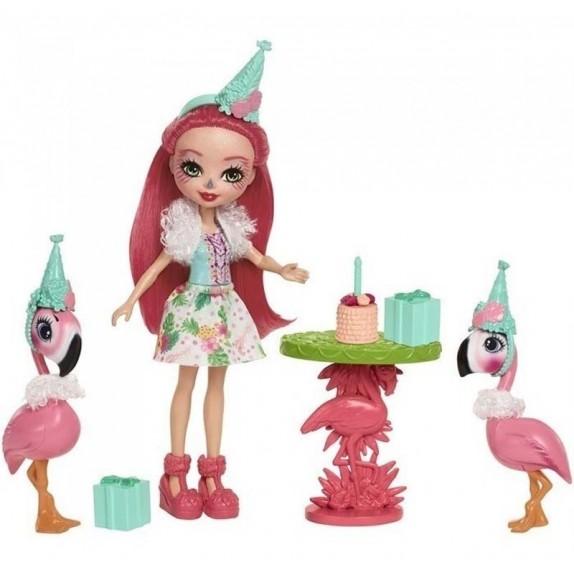 Enchantimals: Set muñeca y mascota diversión