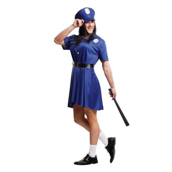DISFRAZ MUJER POLICIA ADULTO