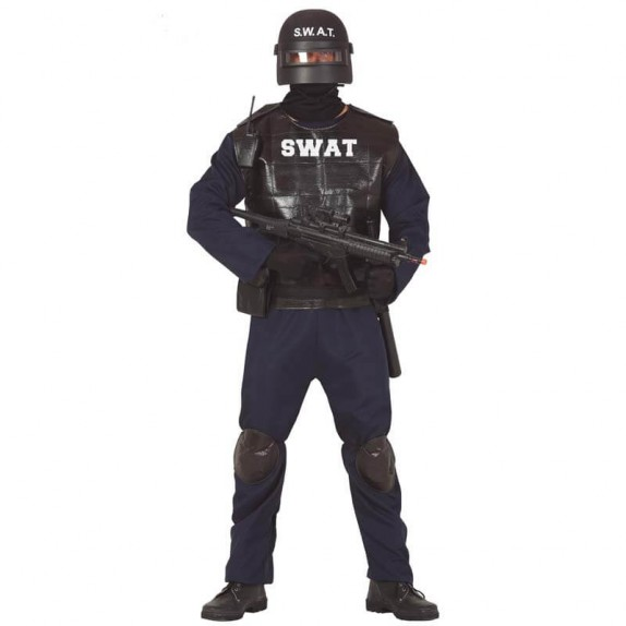 DISFRAZ SWAT ADULTO